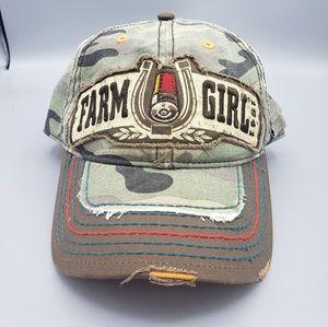 Farm Girl Camo Lucky Shot Hat